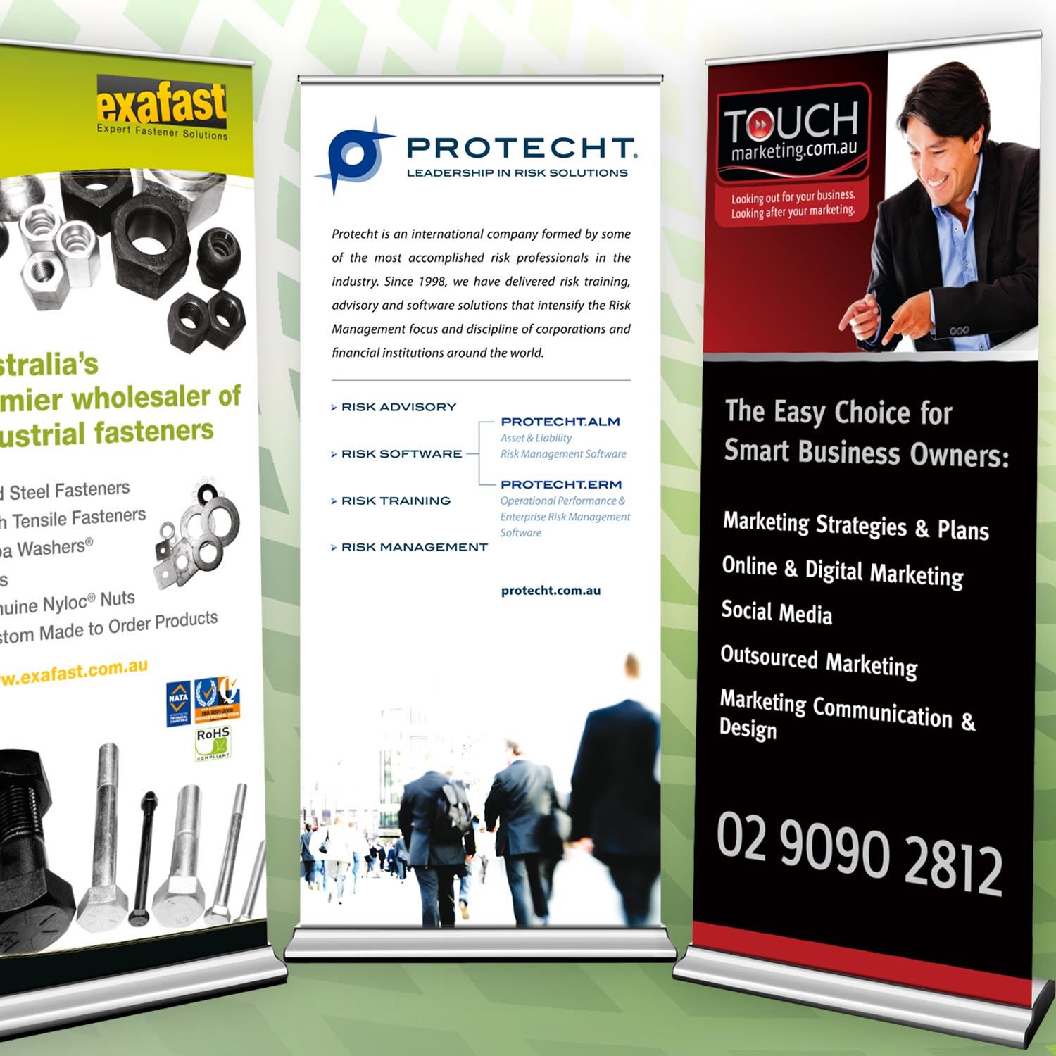 Pull Up Banners Thakur Press